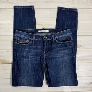 Distressed skinny jeans by Joe's Chelsea Fit